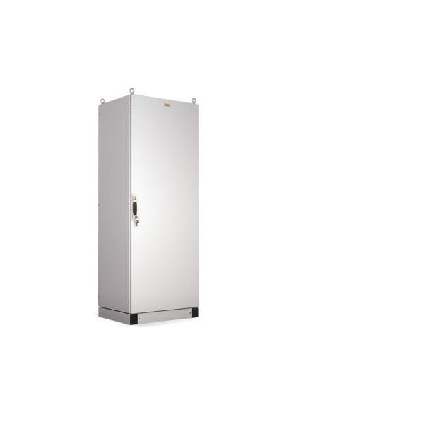 Корпус электротехнического шкафа Elbox EMS, IP65, 2000х800х400 (ВхШхГ), дверь: металл, цвет: серый, (EMS-2000.800.400-1-IP65)