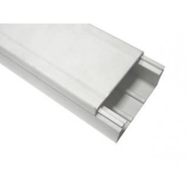Магистральный короб DKC In-Liner 100x60, без перегородок, с крышкой, белый